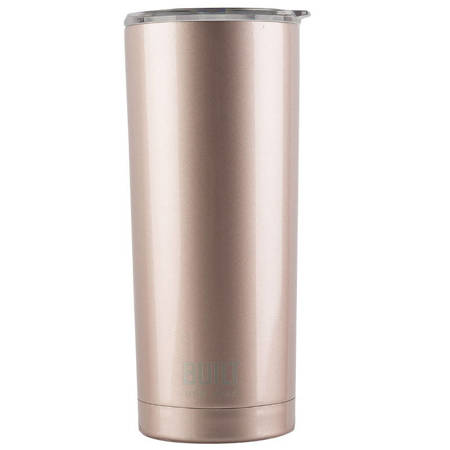 BUILT Vacuum Insulated Tumbler - Stalowy kubek termiczny z izolacją próżniową 0,6 l (Rose Gold)