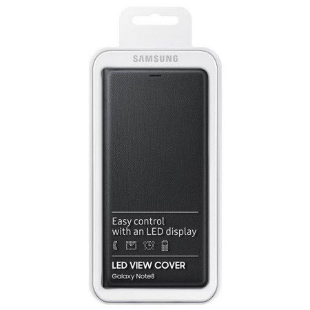 Etui Samsung EF-NN950PV Note 8 fiolet orchid grey N950 LED View Cover