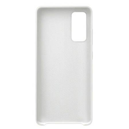 Etui Samsung EF-PG780TW S20 FE G780 biały/white Silicone Cover