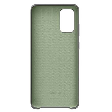 Etui Samsung EF-PG985TJ S20+ G985 szary/gray Silicone Cover
