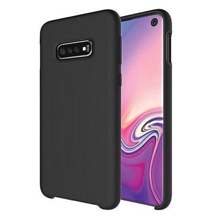 Etui Silicone Samsung A31 A315 czarny /black