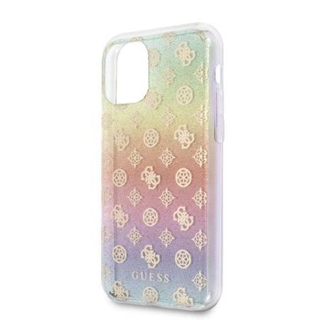 Guess 4G Peony Iridescent - Etui iPhone 11 (tęczowy)