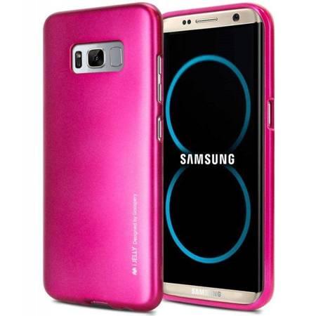 Mercury I-Jelly - Etui Samsung Galaxy S8+ (fuksja)