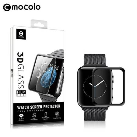 Mocolo 3D Glass Full Glue - Szkło ochronne na ekran Apple Watch 44 mm