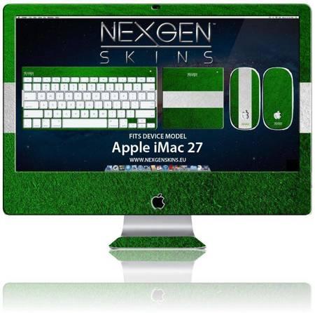 Nexgen Skins - Zestaw skórek na obudowę z efektem 3D iMac 27 (On the Field 3D)