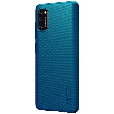 Nillkin Super Frosted Shield - Etui Samsung Galaxy A41 (Peacock Blue)