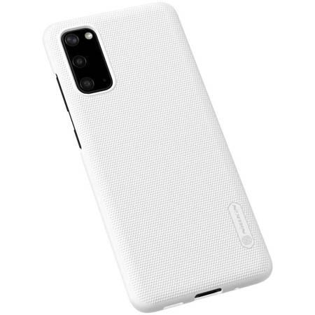 Nillkin Super Frosted Shield - Etui Samsung Galaxy S20 (White)