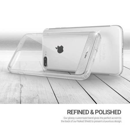 Obliq Naked Shield - Etui iPhone 8 Plus / 7 Plus (Clear)