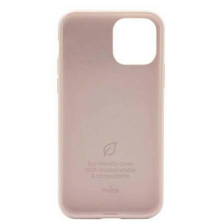 PURO Green Compostable Eco-friendly Cover - Ekologiczne etui iPhone 12 / iPhone 12 Pro (piaskowy róż)
