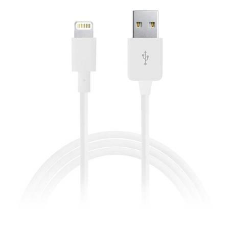PURO Kabel połączeniowy USB Apple złącze Lightning MFi 1m (biały)
