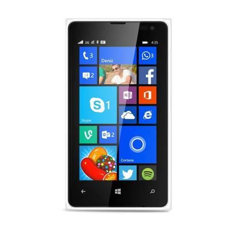 PURO Ultra Slim 0.3 Cover - Etui Microsoft Lumia 435 (półprzezroczysty)