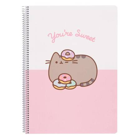 Pusheen - Rose Collection zeszyt A4 (21 x 29,7 cm)