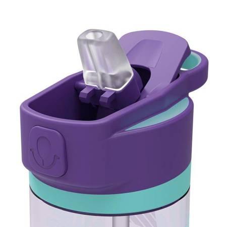 Quokka Quick Sip - Butelka bidon na wodę z systemem szybkiego otwierania 830 ml (Tropicool)