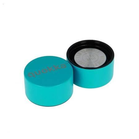 Quokka Solid -  Butelka termiczna ze stali nierdzewnej 630 ml (Bold Turquoise)(Powder Coating)