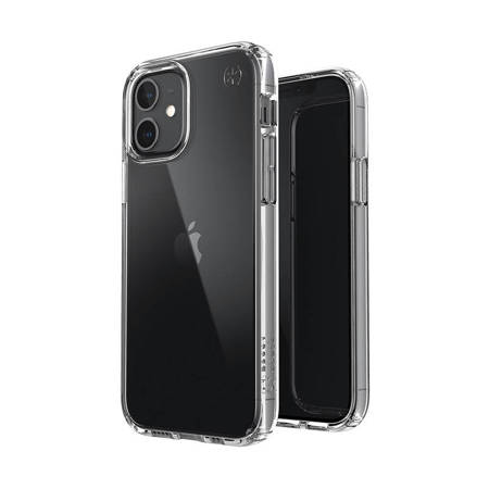 Speck Presidio Perfect-Clear - Etui iPhone 12 / iPhone 12 Pro z powłoką MICROBAN (Clear)