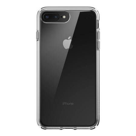 Speck Presidio Perfect-Clear - Etui iPhone 8 Plus / 7 Plus z powłoką MICROBAN (Clear/Clear)