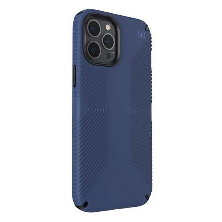 Speck Presidio2 Grip - Etui iPhone 12 Pro Max z powłoką MICROBAN (Coastal Blue/Stormblue)