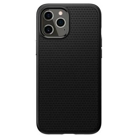 Spigen Liquid Air iPhone 12 Pro Max czarny mat/black matte ACS01617