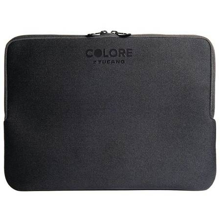 Tucano Colore Second Skin - Pokrowiec Notebook 15.6/ MacBook Pro 16 (czarny)
