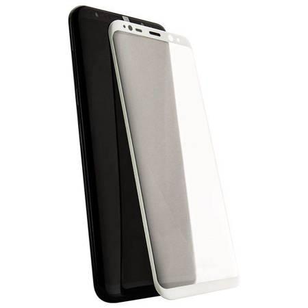 X-Doria Armour 3D Glass - Szkło ochronne 9H na Samsung Galaxy S8+ (biała ramka)