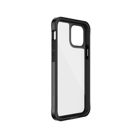 X-Doria Raptic Edge - Etui aluminiowe iPhone 12 Mini (Drop test 3m) (Black)