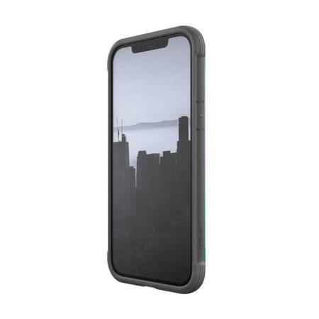 X-Doria Raptic Shield - Etui aluminiowe iPhone 12 Pro Max (Drop test 3m) (Iridescent)